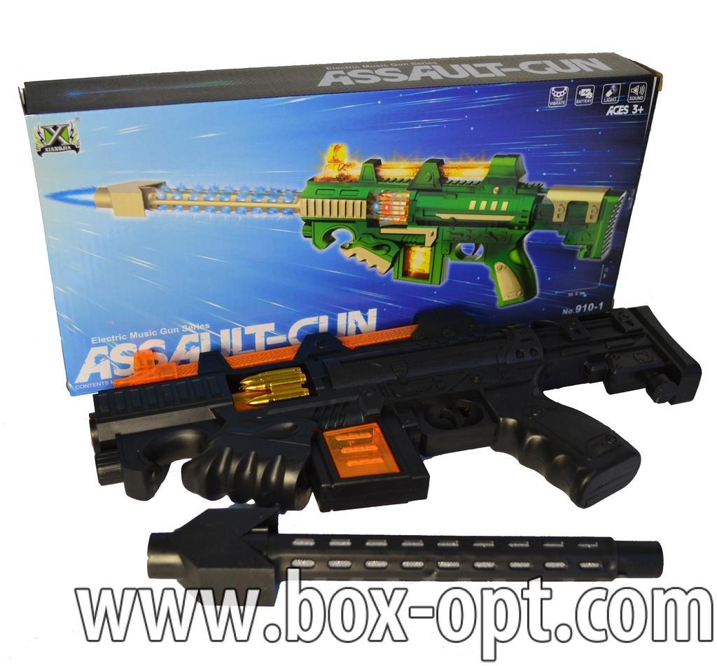 Автомат Assault-Gun (музыкальный светящийся)