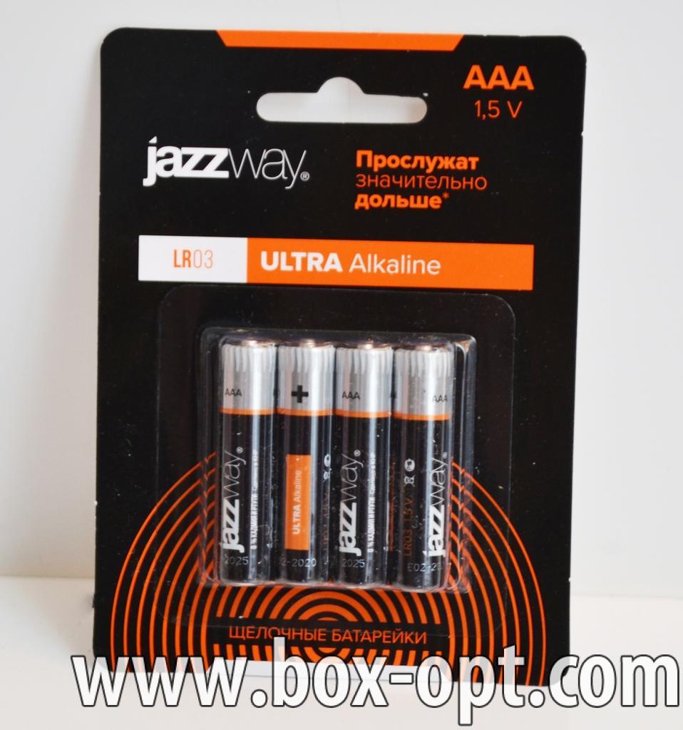 Батарейки AAA JazzWay
