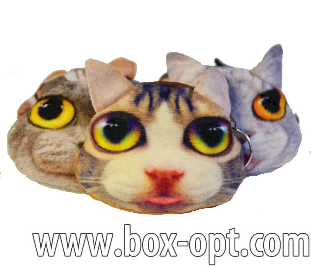 Брелок Кошелек Кот (в пакете)