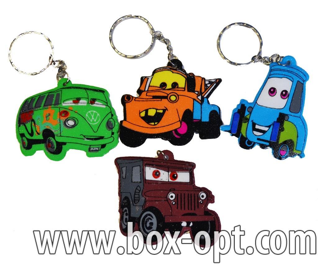 Брелок Тачки Key Chains (в пакете)