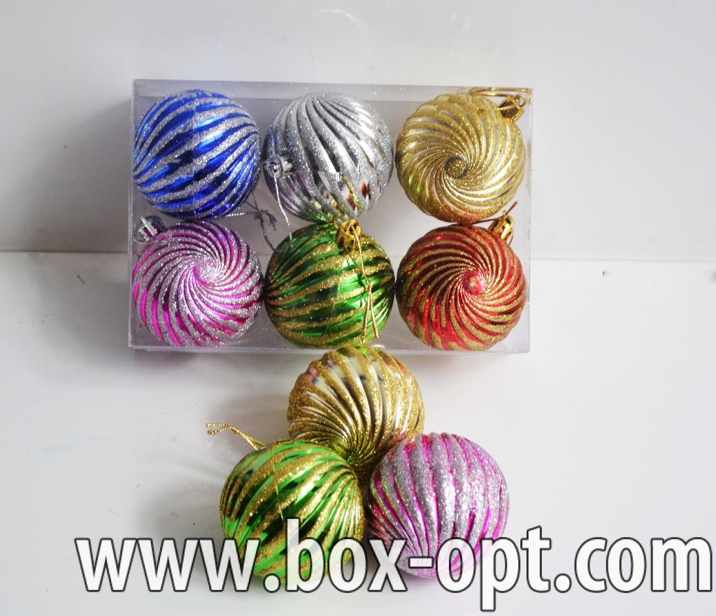 Елочная игрушка (шар блеск 990109)