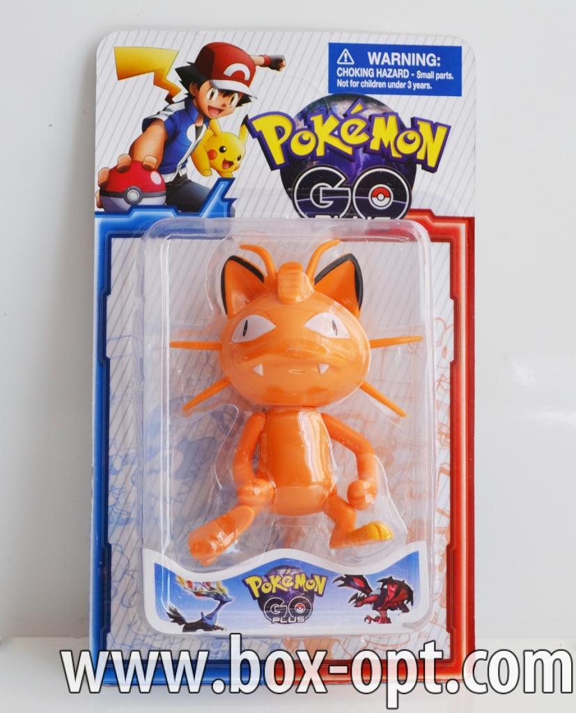 Герои на блистере Pokemon Go (1 фигурка)
