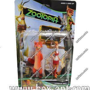 Герои на блистере Zootopia (2 фигурки)