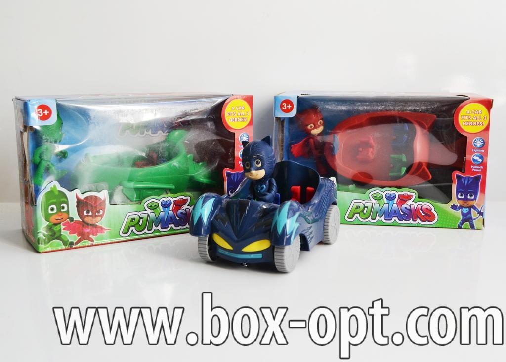 Герои в коробке PJ Masks (3 вида)