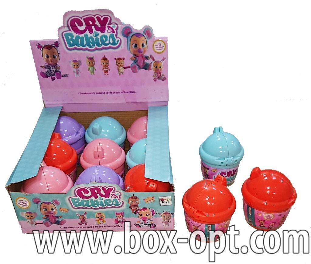 Игрушка Cry Babies (Стакан 9ти штучный)