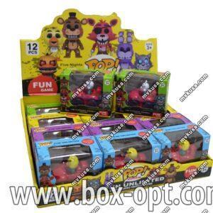 Игрушка в шоу-боксе POP (иннерционная) (4 вида)