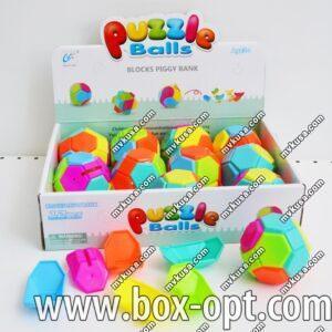 Игрушка в шоу-боксе Puzzle Balls (12 PCS)