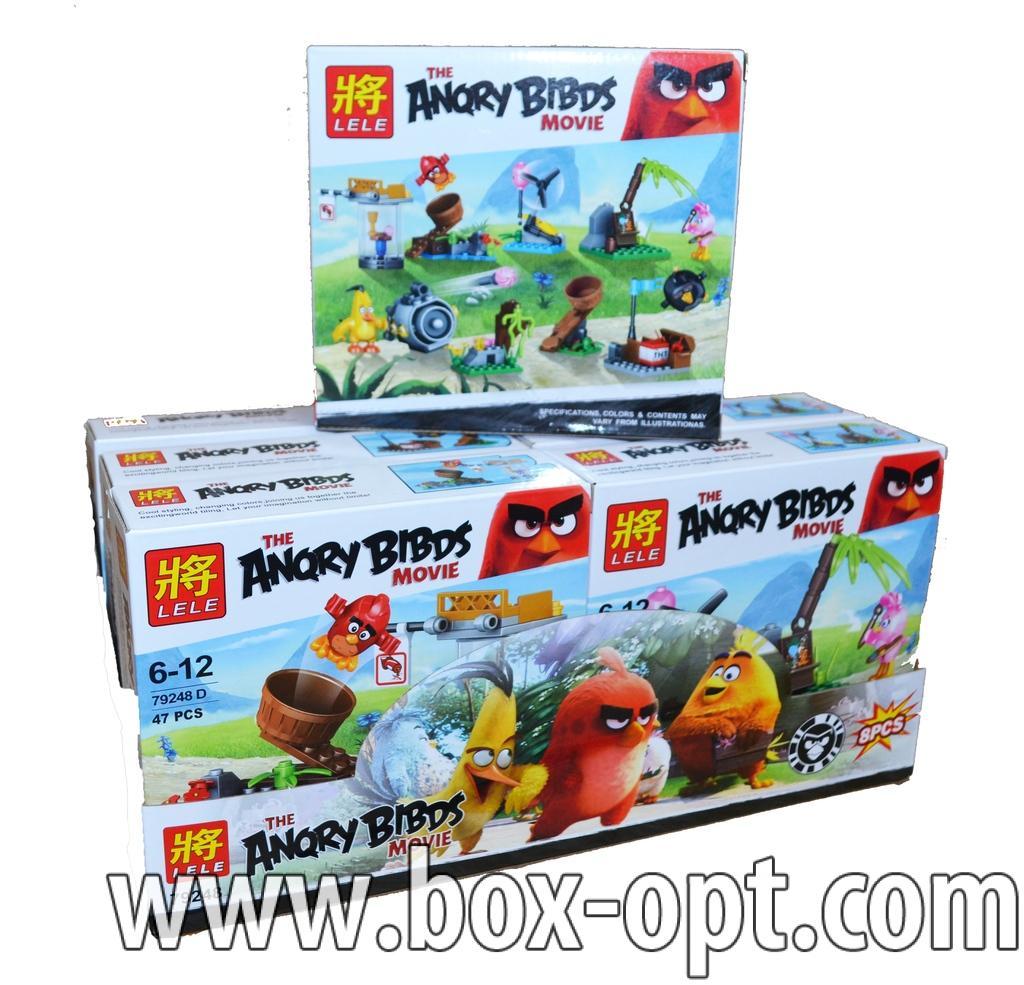 Конструктор Angry Birds (43 Pcs)