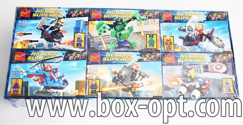 Конструктор Heroes Superes (66 + Pcs)