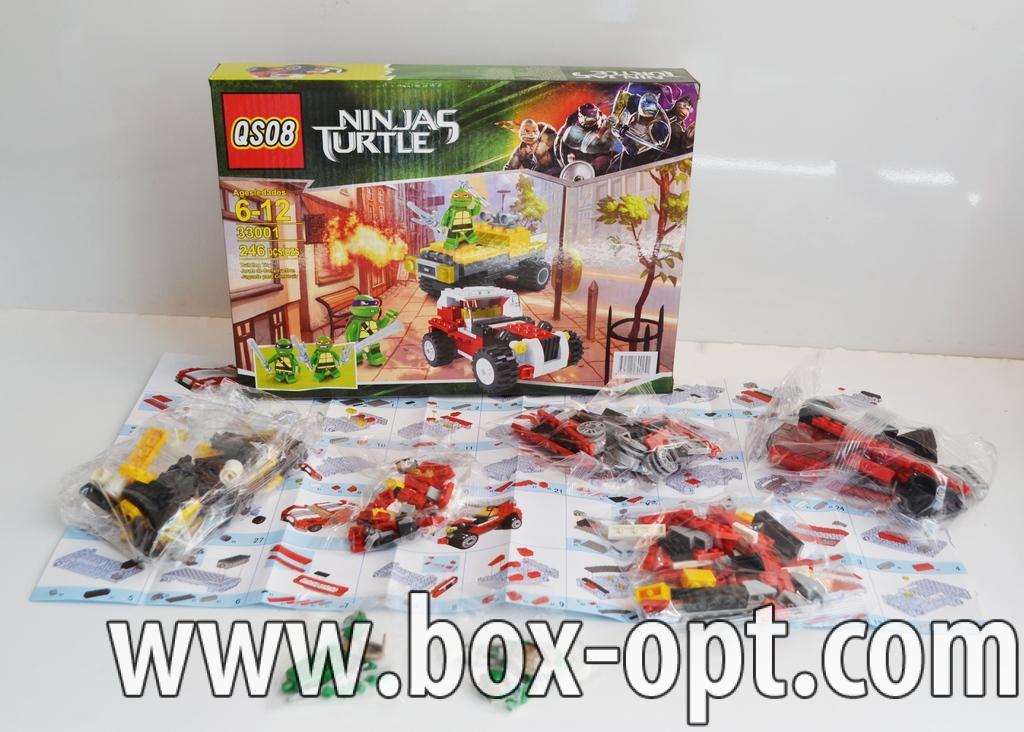 Конструктор Ninjas Turtles (246 Pcs)