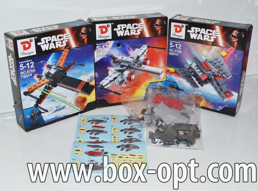 Конструктор Space Wars (75 Pcs)