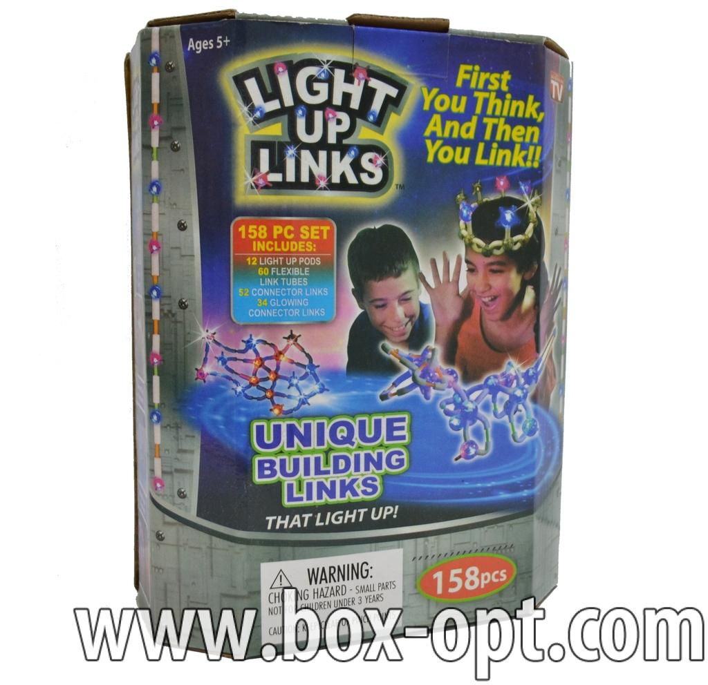 Конструктор светящийся Light Up Lincs (158 PCS)