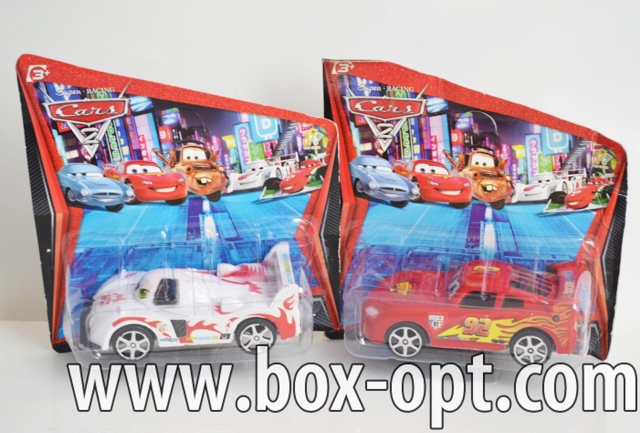 Машинка Cars2 (на блистере)
