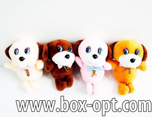 Мягкая игрушка Собачка с Бантиком