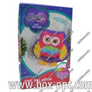 Набор для творчества Подушка Сова Owl Pal Pillow (5 цветов)