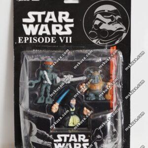 Набор героев на блистере Star Wars (3 фигурки)