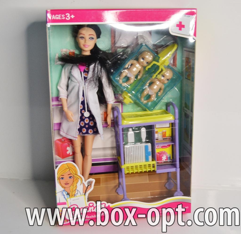 Набор Кукла доктор с аксессуарами
