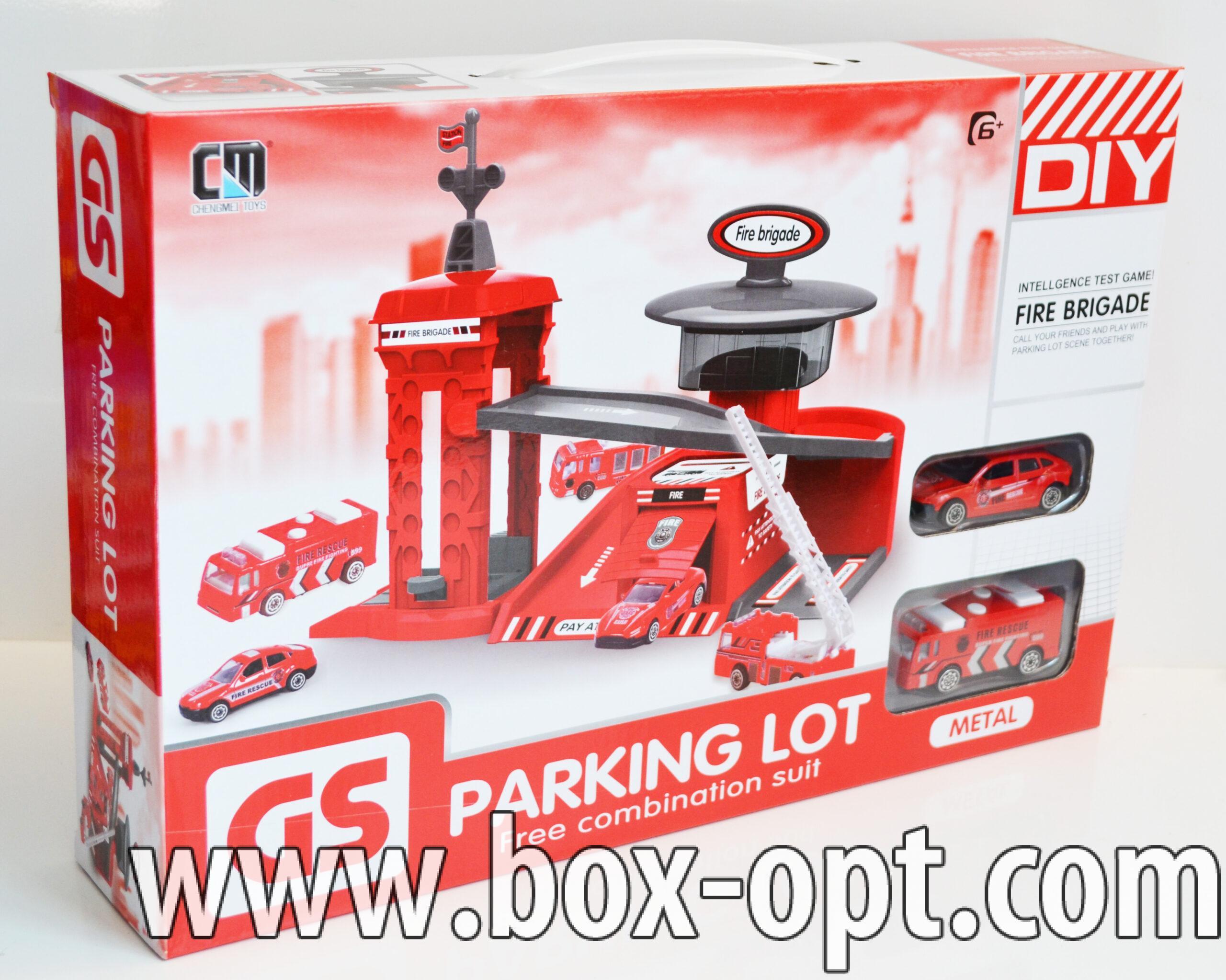Парковка GS Parking Lot (2 машинки)