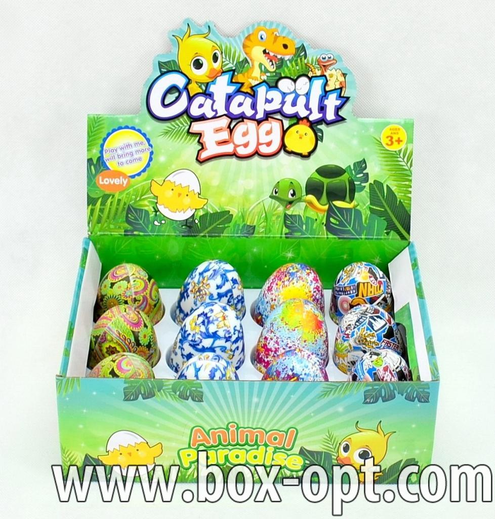 Пластиковое яйцо Catapult Egg (в ассортименте)