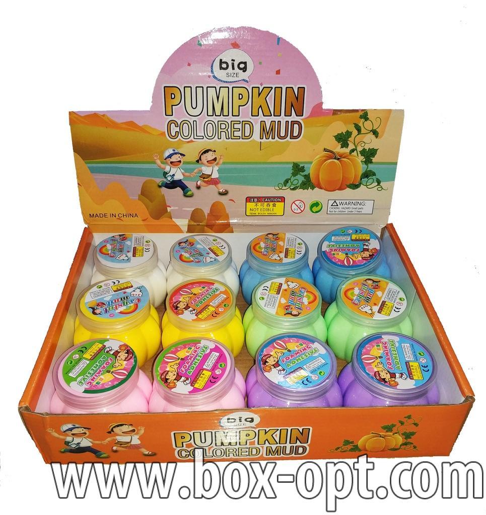 Пластилин Pumpkin Colored Mud