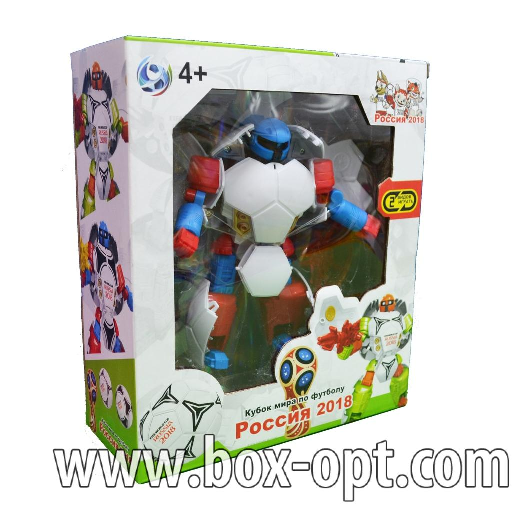 Робот-трансформер Футбольный мяч
