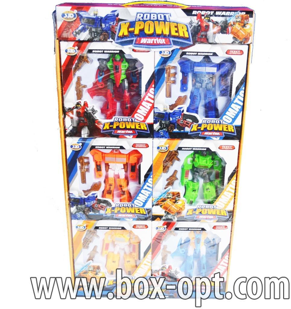 Робот-трансформер robot x-power