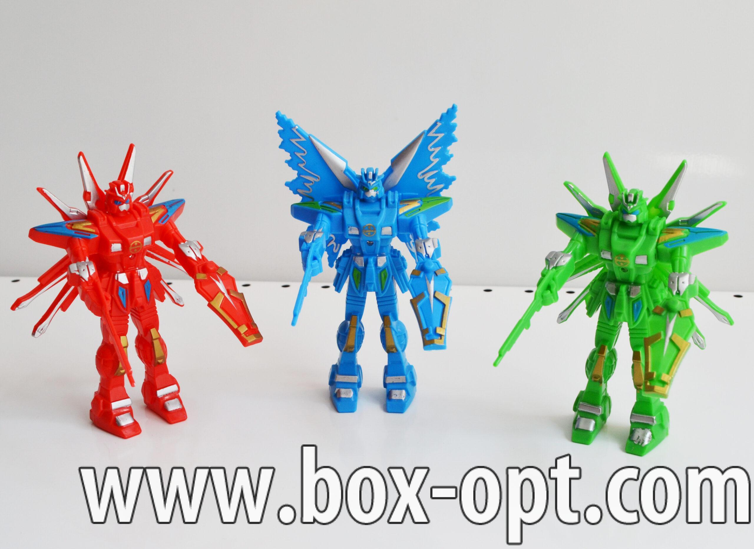 Светящийся Робот с крыльями (в пакете)