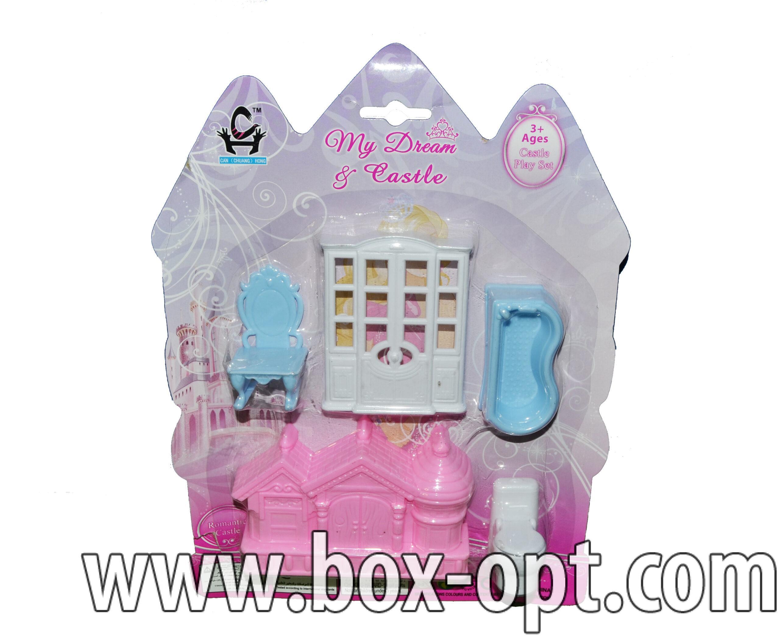 Замок с мебелью My Dream $ Castle Mini (на блистере)
