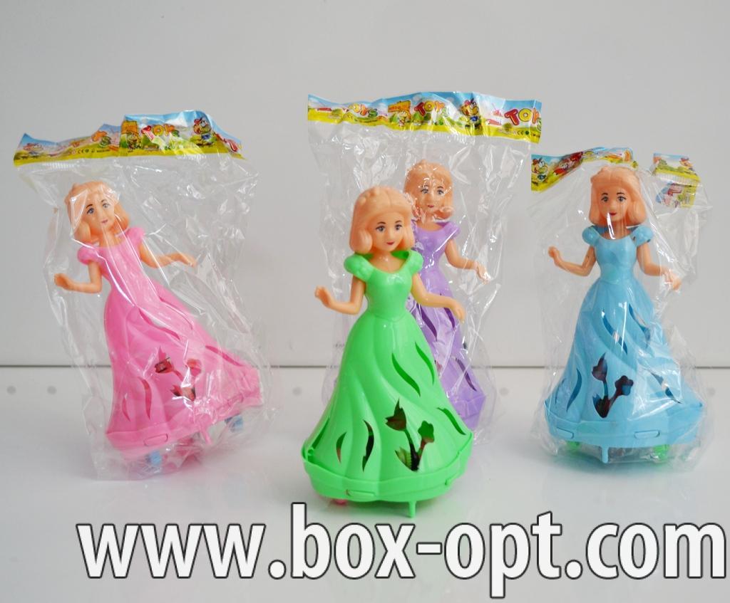 Заводные куклы (светящиеся на шнурке) (в пакете)