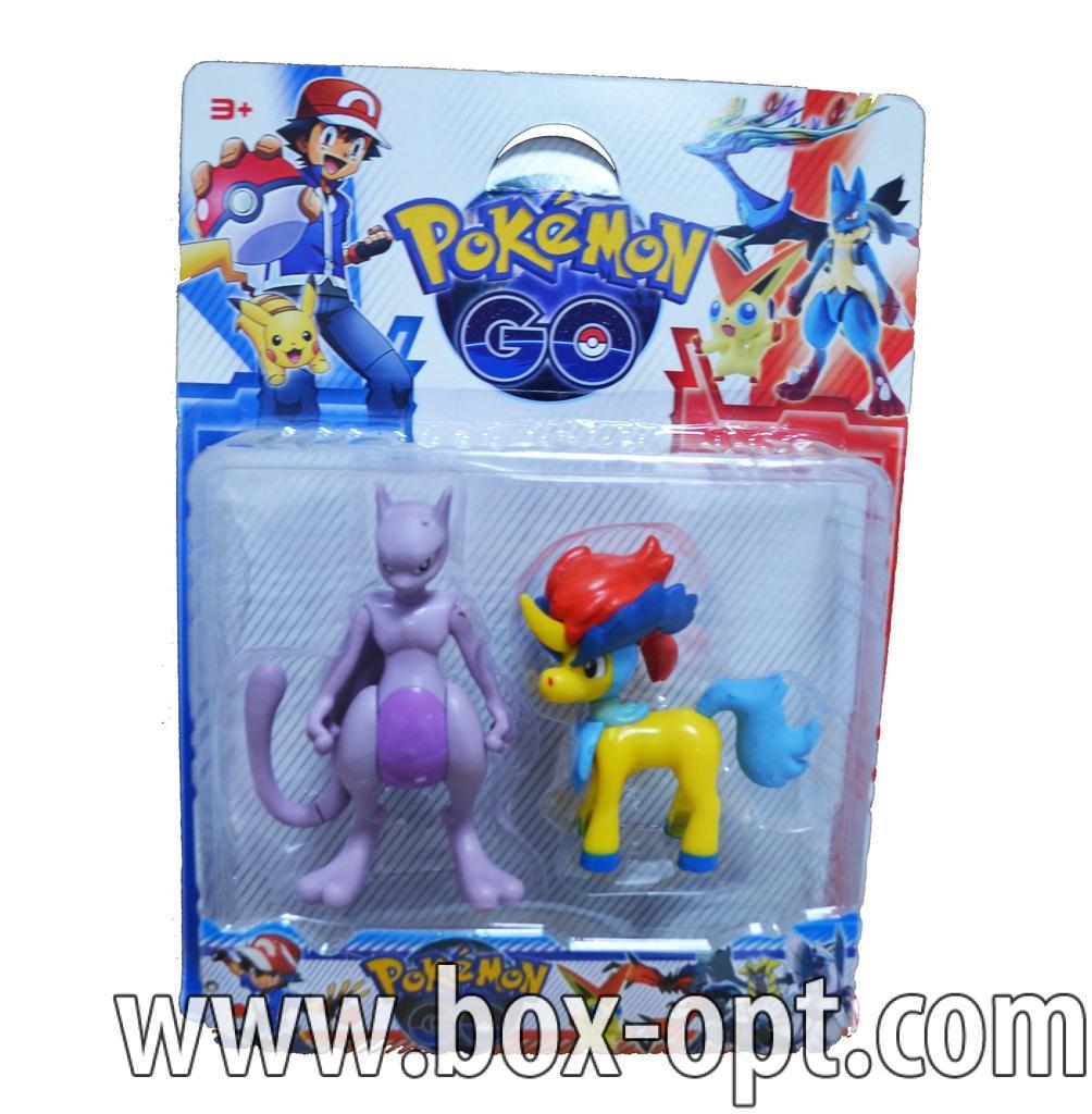 Герои на блистере Pokemon Go (2 фигурки)