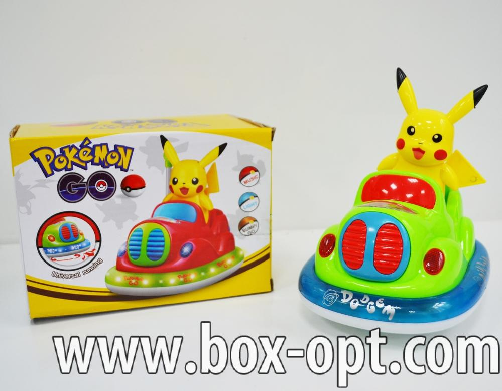 Герои в коробке Pokemon Go (музык свет на батарейках)