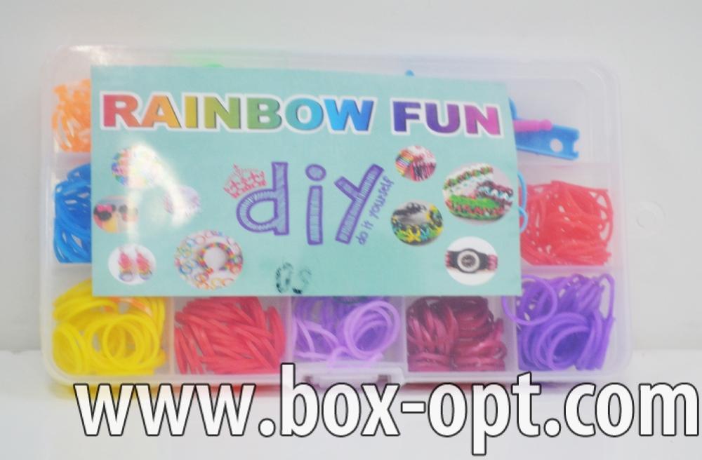 Набор резинок для плетенья (Rainbow Fun)