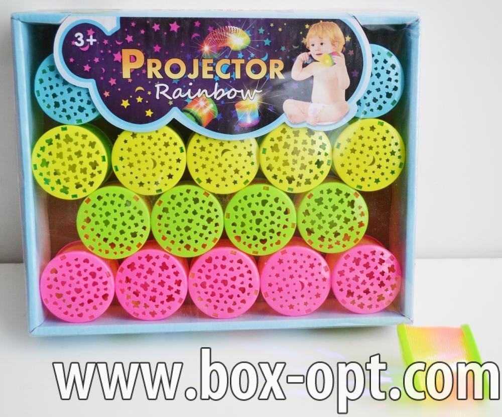 Пружинка Projector Rainbow (с проекцией)