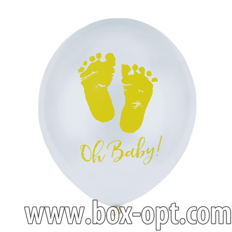 Воздушные Шары Baby Girl Happy Everyday (100 PCS) (в пакете)