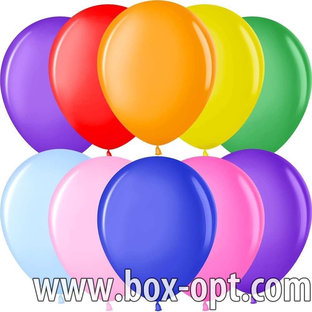 Воздушные Шары Цветные Xingsheng (100 PCS) (в пакете)