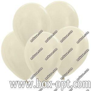 Воздушные Шары YUE FAN Молочные (100 PCS) (в пакете)