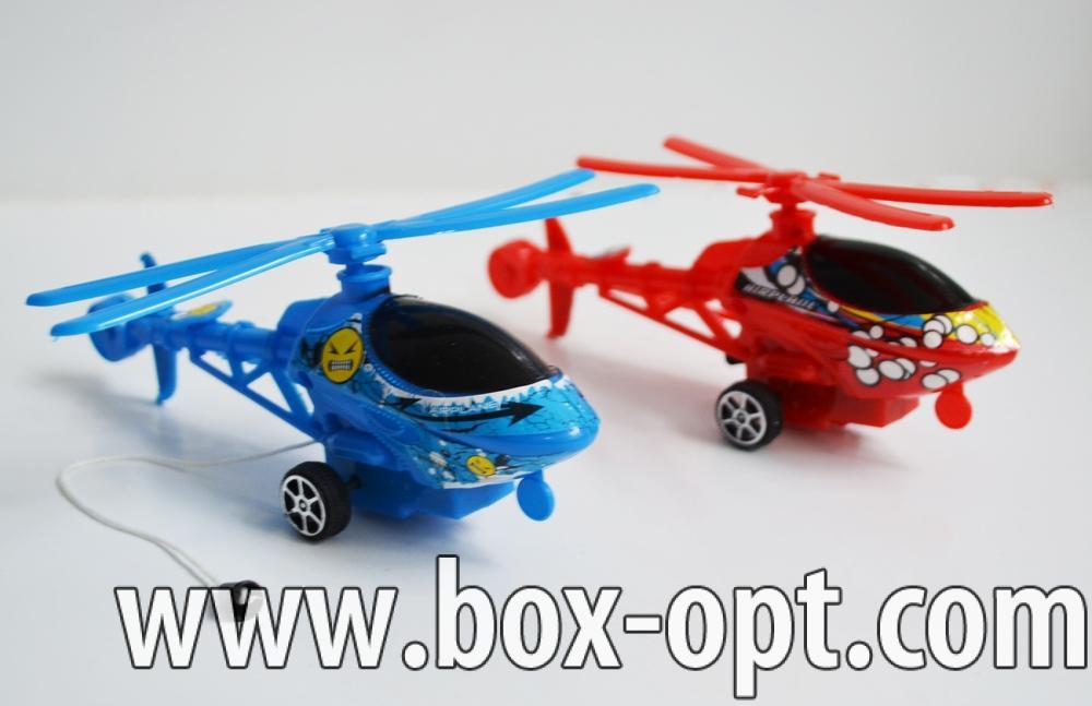 Заводной Вертолет (в ассортименте) (в пакете)