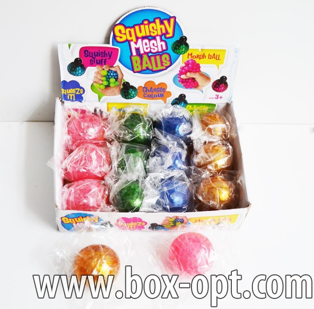 Антистресс squishy mesh balls